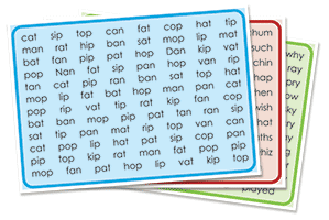 Fluency Sheets